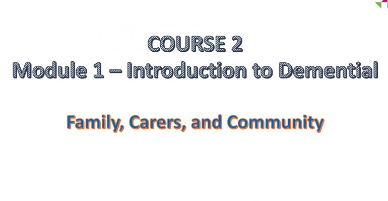 Course 2. – Module 1